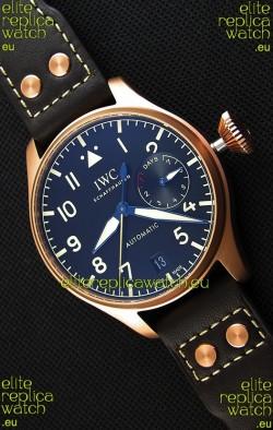 IWC Big Pilot's IW501005 Heritage Swiss Replica Watch - Functional Power Reserve 1:1 Mirror Replica