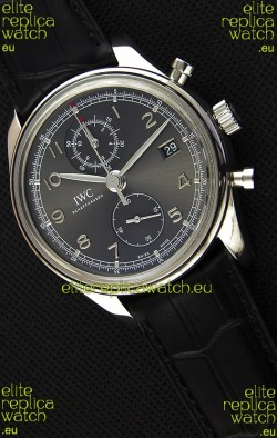 IWC Portugieser Chronograph Classic IW390302 Grey Dial Swiss Replica Watch