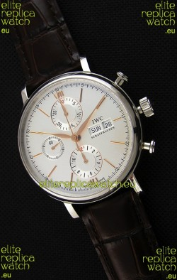 IWC Portofino Chronograph IW391022 White Dial 1:1 Mirror Replica Watch