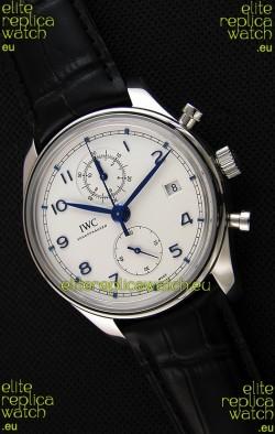 IWC Portugieser Chronograph Classic IW390302 White Dial Swiss Replica Watch