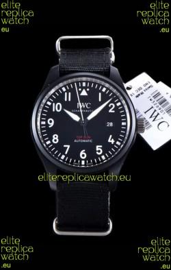 IWC Pilot's Automatic Top Gun 1:1 Mirror Replica Watch in Ceramic Case