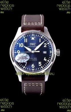IWC Pilot's MARK XVIII IW327010 Steel Blue Dial Le Petit Prince 904L Steel 1:1 Mirror Replica