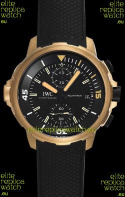 "IWC Aquatimer Chronograph ""Expedition Charles Darwin"" IW379503 1:1 Mirror Replica Watch"