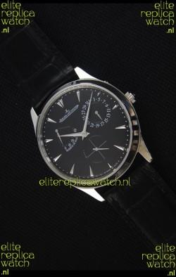 Jaeger-LeCoultre Master Ultra Thin Réserve De Marche Black Dial 1:1 Mirror Replica Watch