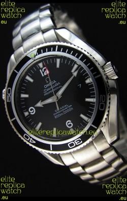 Omega Seamaster Planet Ocean Japanese Replica Watch - 45MM