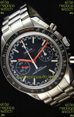 Omega Speedmaster Racing Co-Axial Master Chronograph Swiss Replica Watch Black Dial