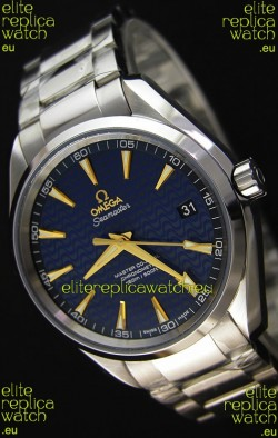 Omega Seamaster Aqua Terra Co-Axial Blue Limited Edition Swiss 1:1 Mirror Replica