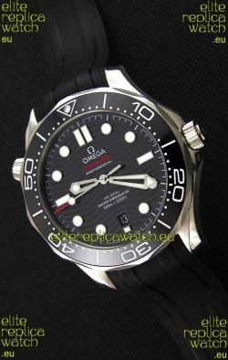Omega Seamaster 300M Co-Axial Master Chronometer BLACK Swiss 1:1 Mirror Replica Watch