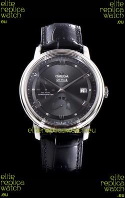 Omega De Ville Prestige Power Reserve 904L Steel 1:1 Mirror Swiss Watch Grey dial