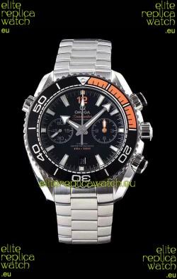 Omega Planet Ocean 600M Chronograph 904L Steel 1:1 Mirror Replica Watch
