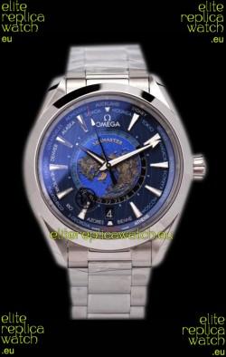 Omega Seamaster Aqua Terra 150M GMT Worldtime Swiss Replica Watch