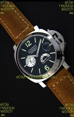 Panerai Luminor Power Reserve Japanese Replica Watch in Steel Case