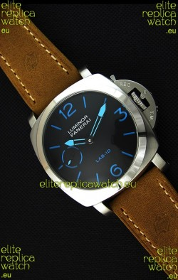 Panerai Luminor Marina LAB-ID Japanese Replica Watch in Steel Case