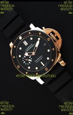 Panerai Luminor Submersible 3 days PAM684 Rose Gold Swiss 1:1 Mirror Replica Watch