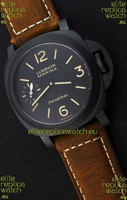 Panerai Luminor Marina Carbotech Beverly Hills Boutique Edition Swiss Replica Watch