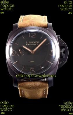 Panerai Luminor 1950 3 Days PAM00375 Composite Cased Vintage Edition Swiss Replica Watch