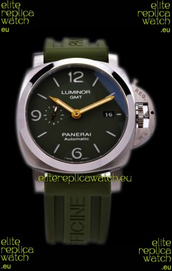 Panerai Luminor Marina GMT PAM1056 904L Steel Swiss Watch - 1:1 Mirror Replica