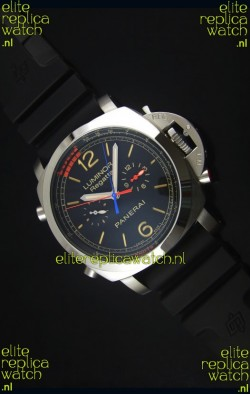 Panerai Luminor Regatta Japanese Replica Watch in Steel Case