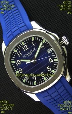 Patek Philippe Aquanaut 5168G-001 Swiss Replica Watch Blue Dial - 1:1 Mirror Edition
