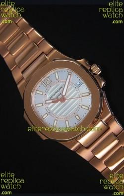 Patek Philippe Ladies Nautilus Rose Gold Watch 36MM
