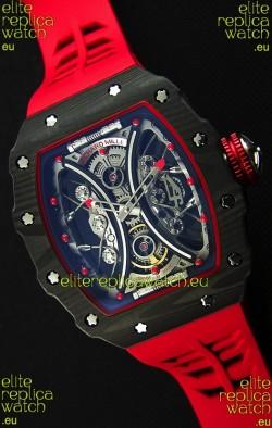 Richard Mille RM53-01 Pablo Mac Donough Red Carbon Case Swiss Replica Watch