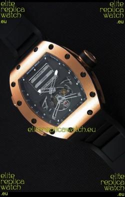 Richard Mille RM069 Tourbillon Erotic Pink Gold Case Replica Watch