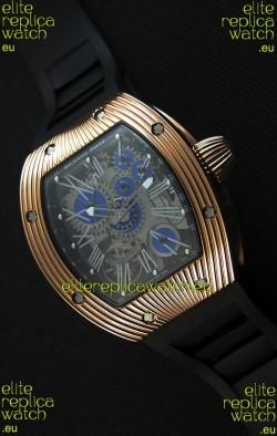 Richard Mille RM 018 Tourbillon Hommage A Boucheron Swiss Watch Rose Gold Case
