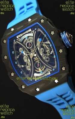 Richard Mille RM53-01 Pablo Mac Donough Carbon Case Swiss Replica Watch