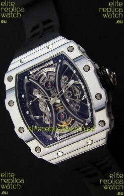 Richard Mille RM53-01 Pablo Mac Donough White Carbon Case Swiss Replica Watch