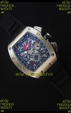 Richard Mille RM011 Japanese Replica Watch in Stainless Steel Case