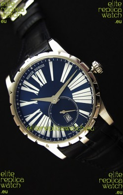 Roger Dubuis Excalibur RDDBEX0378 Steel Blue Swiss Replica Watch