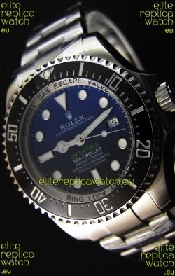 Rolex Sea-Dweller REF# 116660 Deep Sea Blue Swiss Replica 1:1 Mirror - Ultimate 904L Steel Watch