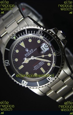 Rolex Submariner 1680 Vintage Edition Coffee Dial Swiss Watch 1:1 Mirror Replica Edition
