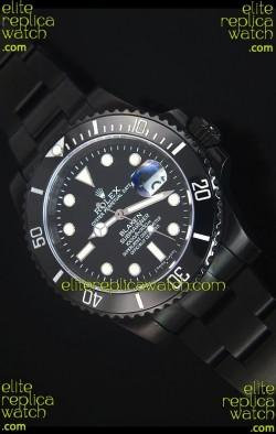 Rolex Submariner Blaken PVD Swiss Replica Watch