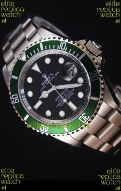 Rolex Submariner 11610LV Green Bezel - The Ultimate Best Edition 2017 Swiss Replica Watch