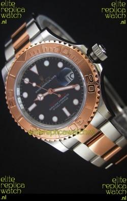 Rolex Yacht-Master 40 Everose Gold Swiss Replica Watch with 2836-2 Movement