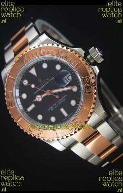 Rolex Yacht-Master 40 Everose Gold 1:1 Swiss Replica Watch with 3135 Movement
