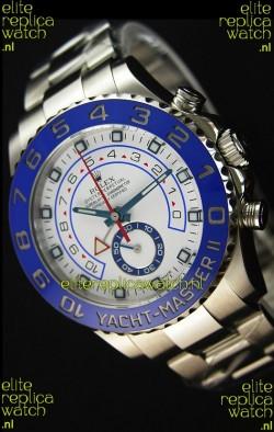 Rolex Yachtmaster II Stainles Steel Ref.116680 1:1 Mirror Replica Watch (Working Stopwatch Edition)