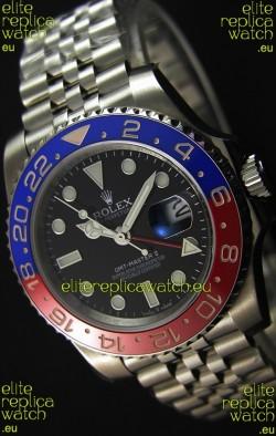 Rolex GMT Masters II 116719BLRO Pepsi Bezel ETA 2836 Movement Swiss Replica - Ultimate 904L Steel Watch