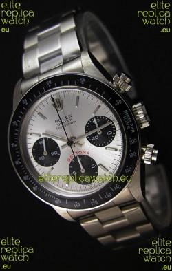 Rolex Daytona  6263 Floating Big Red Swiss Replica Watch - 904L Steel Watch