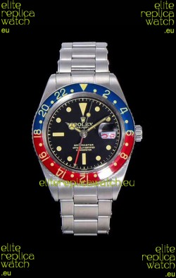 Rolex GMT Master 1675 PEPSI Vintage Edition Swiss Replica Watch