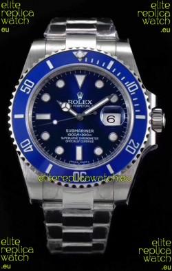Rolex Submariner Ref#126610LB ETA3135 Replica 1:1 Mirror 904L Steel Watch 41MM