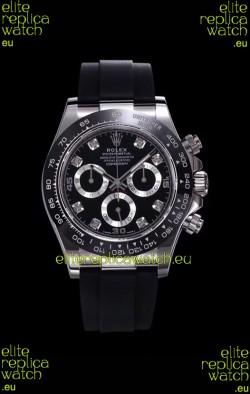 Rolex Daytona 116509 White Gold Original Cal.4130 Movement - 1:1 Mirror 904L Steel Watch