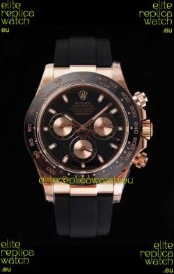 Rolex Daytona 116515LN Everose Gold Original Cal.4130 Movement - 1:1 Mirror 904L Steel Watch
