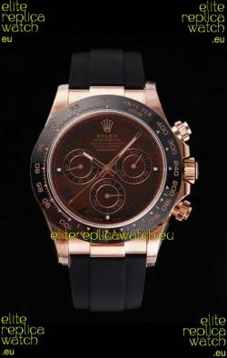 Rolex Daytona 116515LN Everose Cerachrom Original Cal.4130 Movement - 1:1 Mirror 904L Steel Watch
