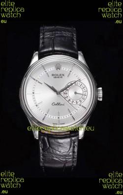Rolex Cellini Date Ref#50519 Replica 1:1 Mirror 904L Steel Watch White Dial