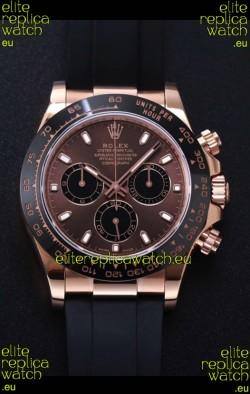 Rolex Daytona 116515LN-0041 Everose Gold Original Cal.4130 Movement - 1:1 Mirror 904L Steel Watch