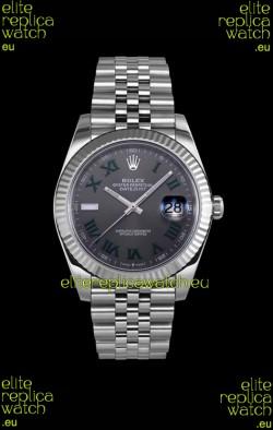 Rolex Datejust Wimbledon Cal.3235 Movement Swiss Watch - Ultimate 904L Steel 41MM