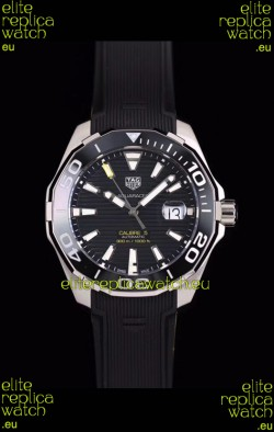 Tag Heuer Aquaracer Calibre 5 1:1 Mirror Replica Watch Black Dial