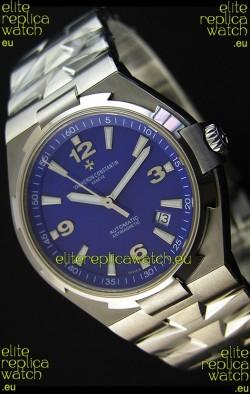 Vacheron Constantin Overseas Blue Dial Swiss Replica Watch
